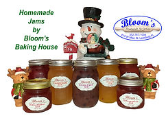 Homemade Fruit Flavored Jams