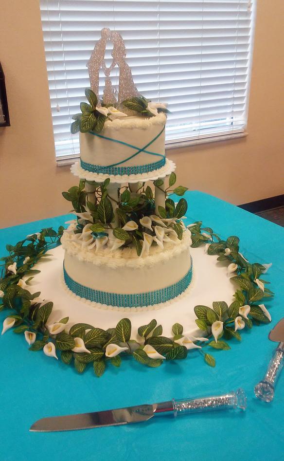 2-Tier-Wedding-Cakes