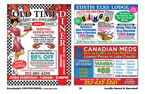 image relating to Zetia Coupon Printable identified as Coupon Guide Central Florida Everybodys Coupon Reserve ECB
