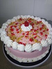 Cherry Walnut cake by Bloom's Baking House