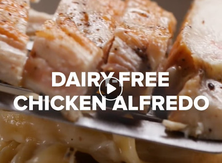 The Best Dairy-Free Chicken Alfredo