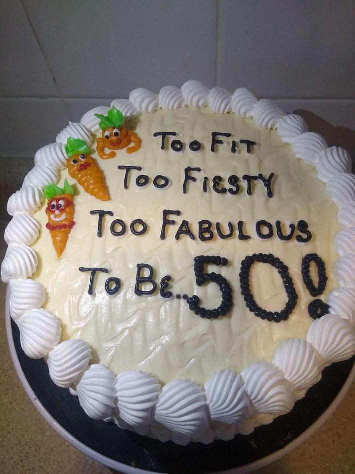 50th Birthday Cakes