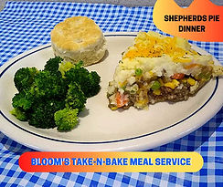 Shepherds Pie Take-N-Bake Meal by Bloom's