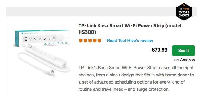 TP-Link Surge Suppressor $79.99 on Amazon