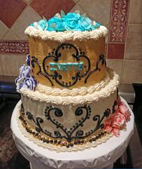 2-Tier-Birthday-Cake