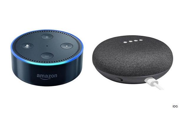 Amazon Echo Dot vs. Google Home Mini