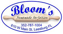 Bloom's Baking House Logo