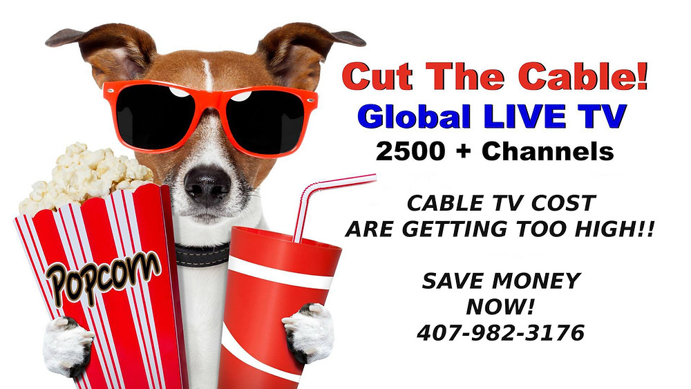 Cable TV streaming service for just $19.95/mo.