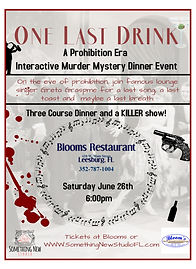 One Last Drink - Promo 6-26-21