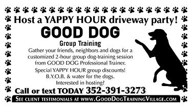 Yappy Hour with Good Dog Training