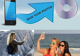 Save your photos, selfies and videos