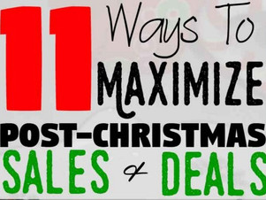 11 Ways to Maximize After-Christmas Sales and Save BIG