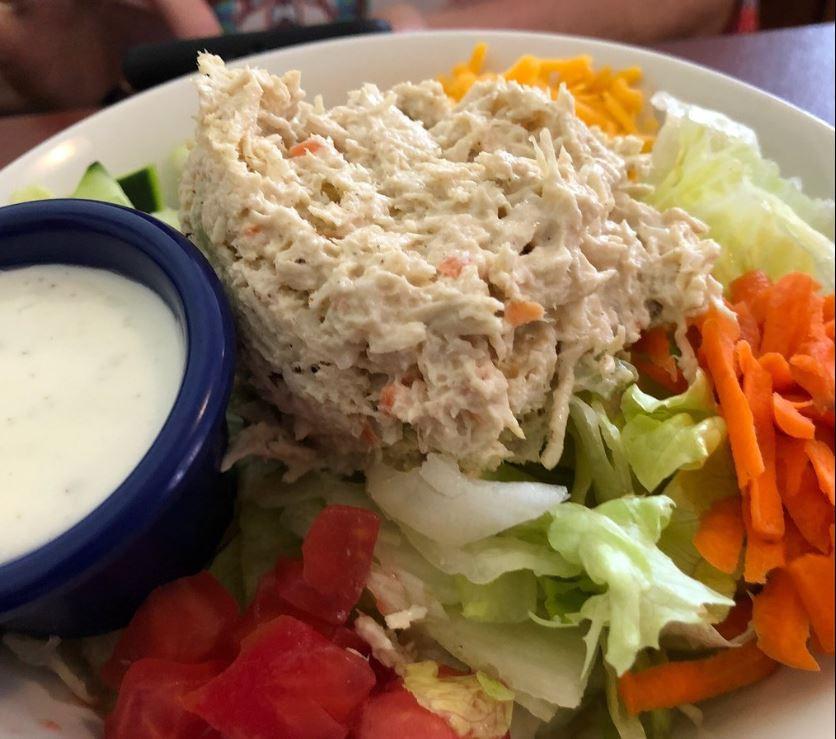 Chicken Salad Platw