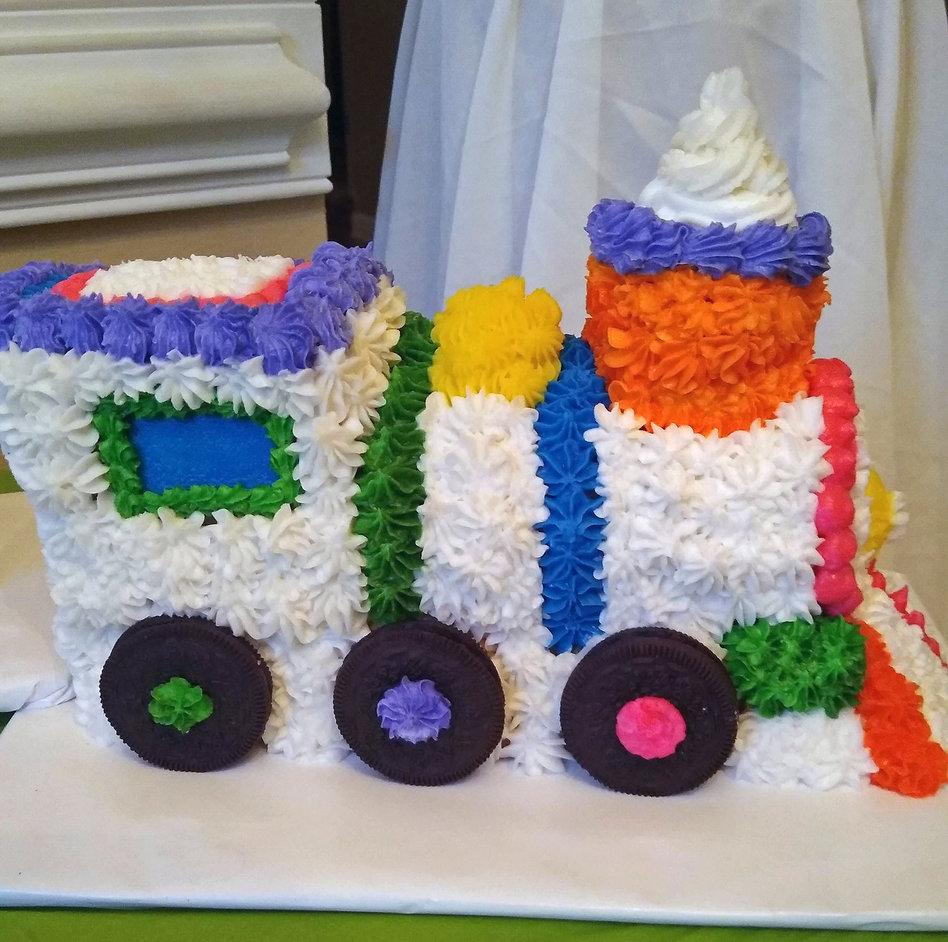 Fun Kids Train Cakes