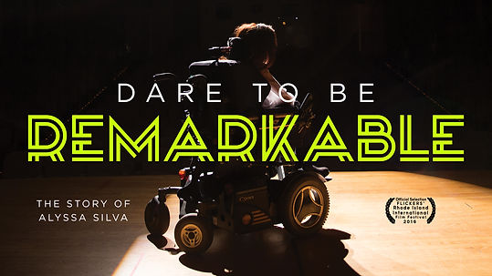 Dare to Be Remarkable - Poster - Web - 1
