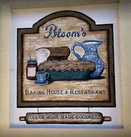 Blooms Baking House Mural