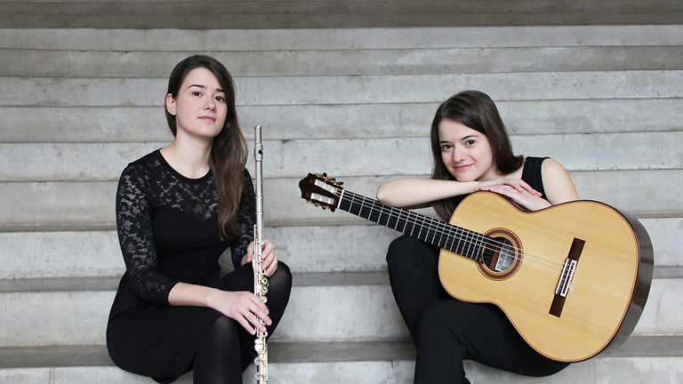 17:00 | Baumbach – Duo  (Anne Baumbach/Flöte Thea Baumbach/Gitarre) und Niklas Johansen (Gitarre)