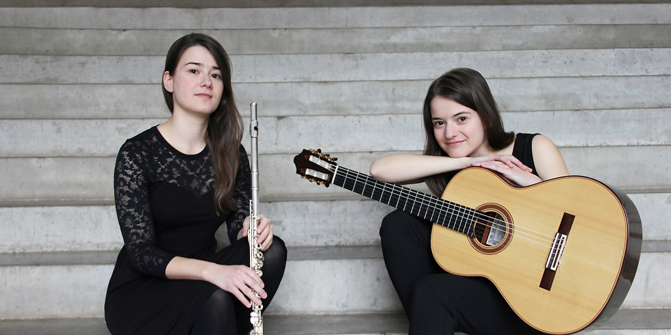 20:00 | Baumbach – Duo  (Anne Baumbach/Flöte Thea Baumbach/Gitarre) und Niklas Johansen (Gitarre)