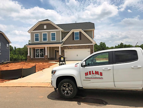 Helms Heating and Air Conditioning residential new construction