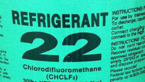 The US Ban of R-22 (Freon) in 2020