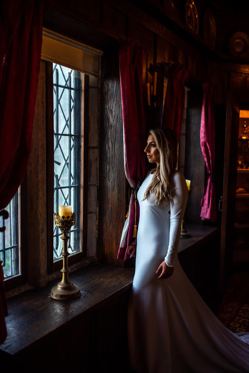 Hammond Castle Gloucester Massachusetts Wedding