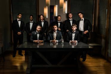 Amazing Groomsmen Photo - Mount Mansfield Wedding, Stowe Vermont Mountain Wedding by Anne-Marie Photography