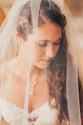 Bride Portrait in wedding dress Massachusetts