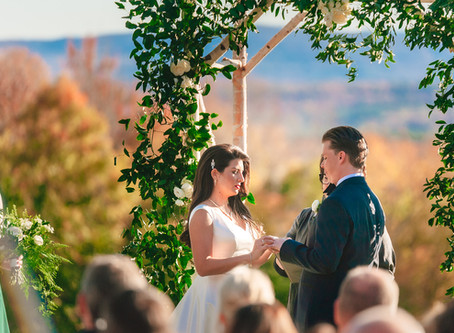 An Elegant Fall Wedding at Four Peaks, Vermont.