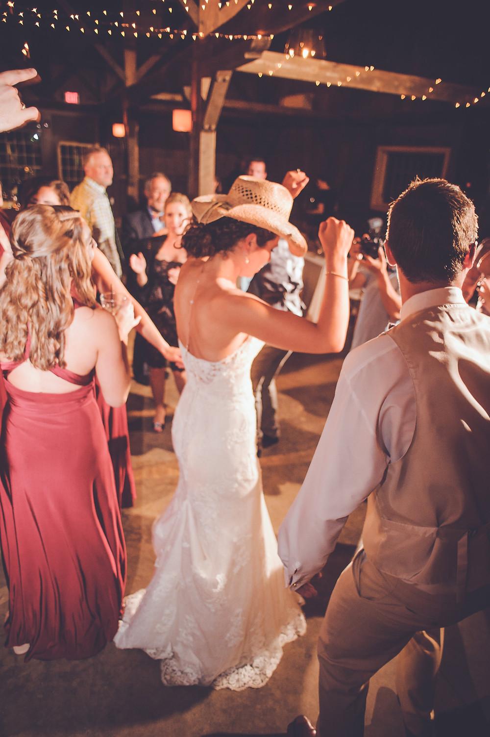 Bride Dancing Reception