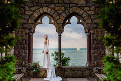 Hammond Castle Bride Wedding Day