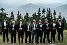 Mount Mansfield Wedding, Stowe Vermont Mountain Wedding by Anne-Marie Photography