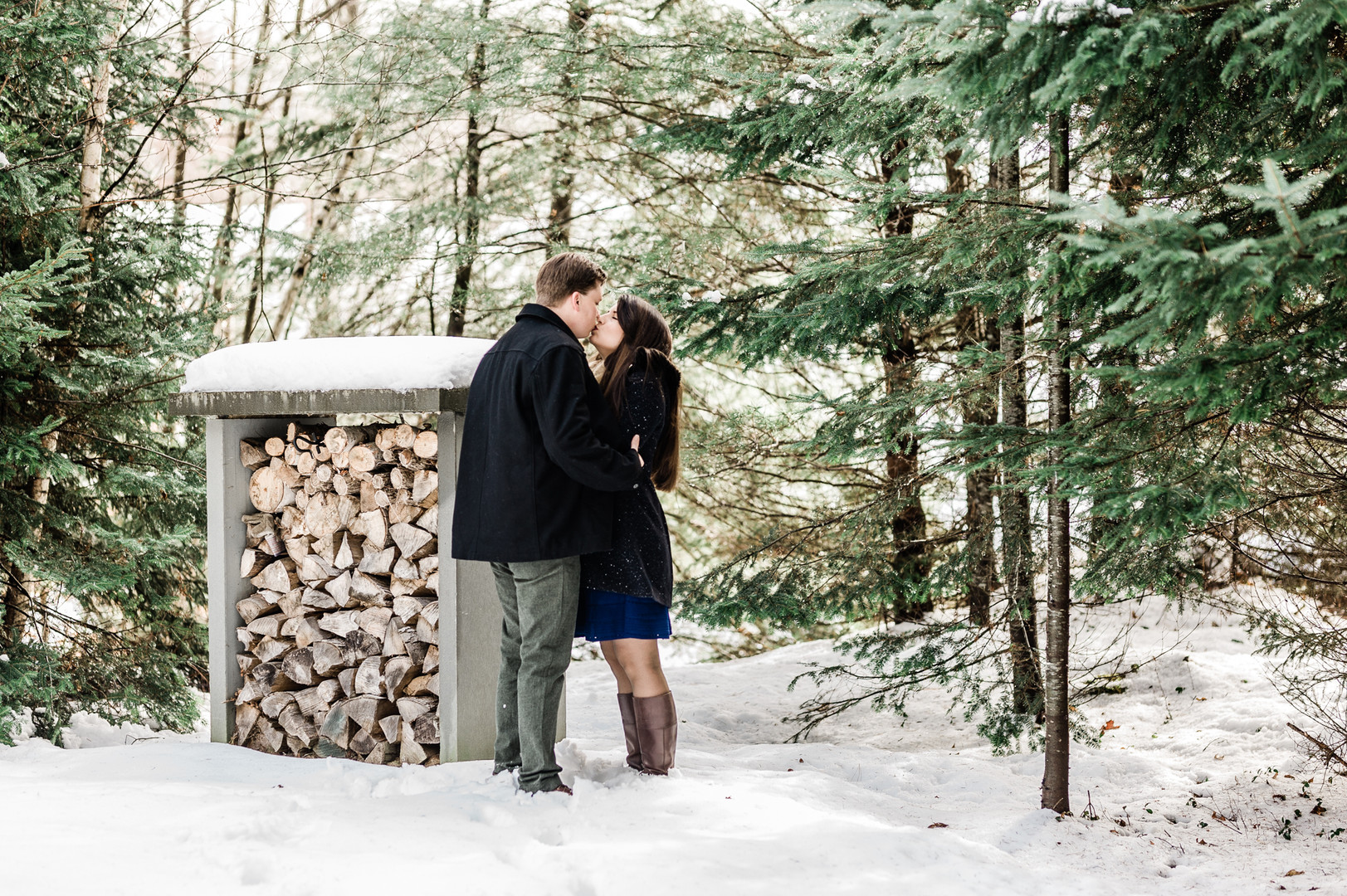 Weston VT Engaged Couple