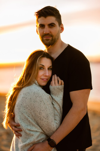 Newburyport MA Engagement Photo Session-
