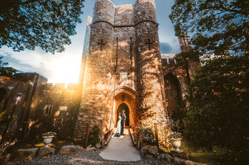 Hammond Castle Wedding Bride and Groom Photography