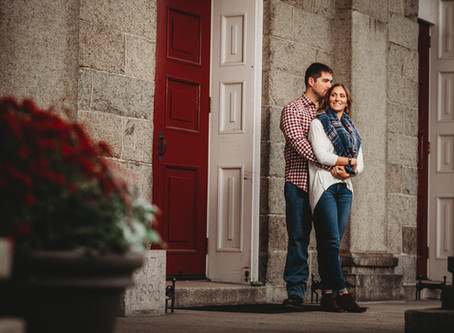 PORTSMOUTH NEW HAMPSHIRE ENGAGEMENT PHOTOGRAPHY:  KAYLA & CHRIS