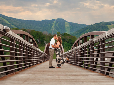 KILLINGTON VERMONT ENGAGEMENT: JOHN & KATELYN