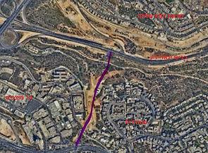 כביש 22 הר החוצבים ירושלים