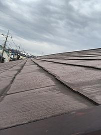 所沢のリフォーム会社原田ホームで戸建て住宅のコロニアル屋根の修理をした時の施工写真