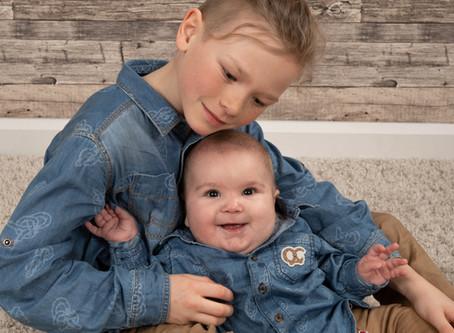 Mon fils et mon filleul