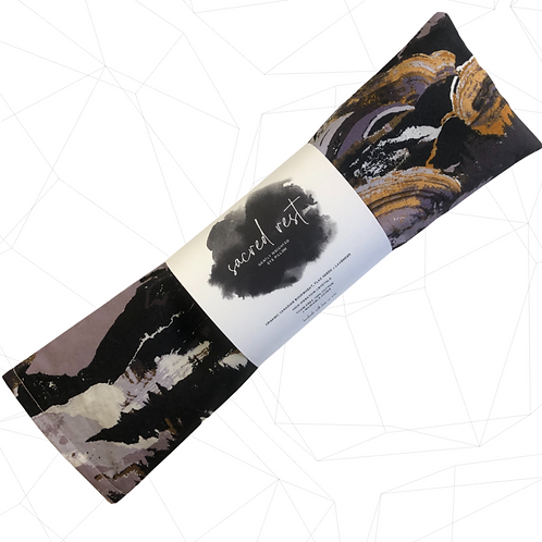 sacred rest | tiger eye | weighted eye pillow