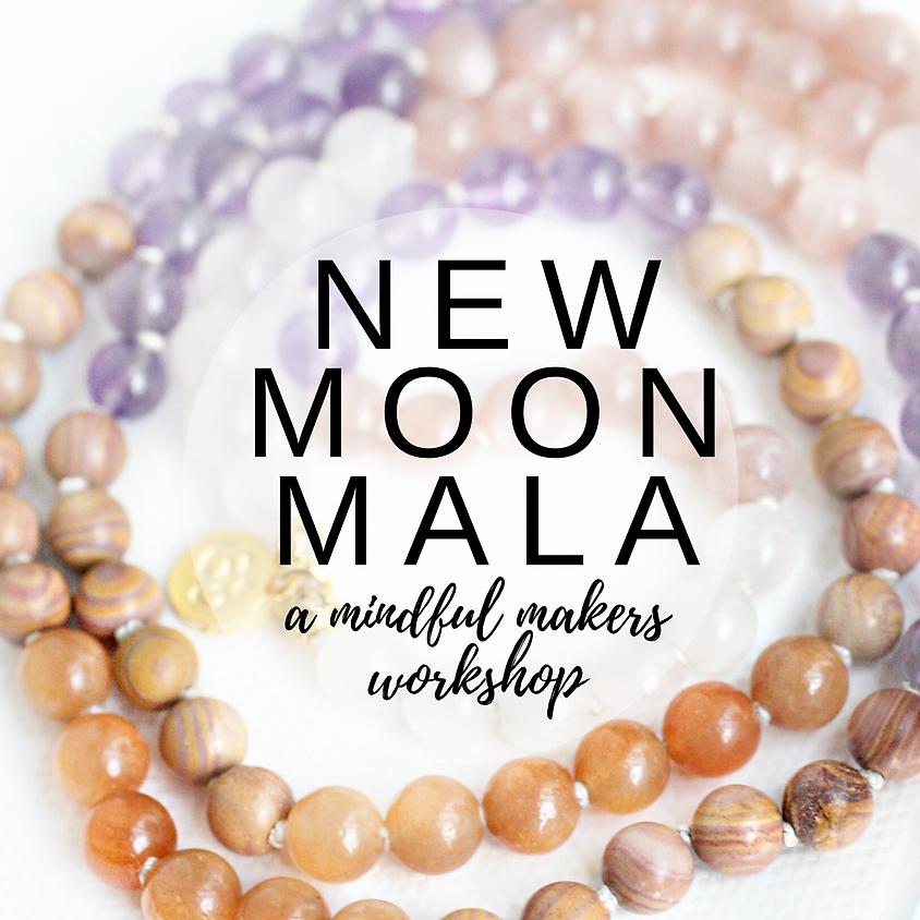 February New Moon Mala Workshop
