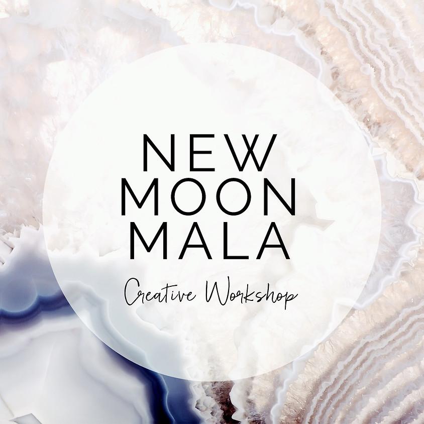 New Moon Mala Making