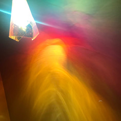 Hanging Light and Dichroic FilmExperiment