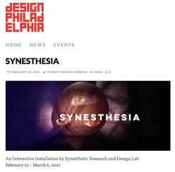 Synesthesia featured at Design Philadelphia Stories