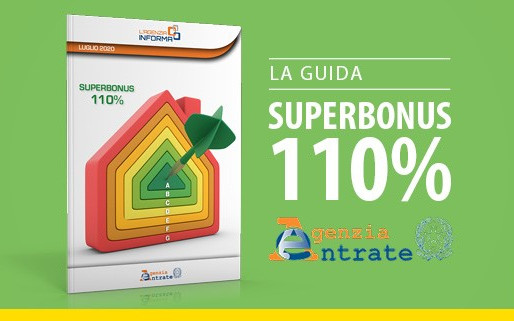 Ecco la guida dell'Agenzia delle Entrate sul SuperBonus al 110%