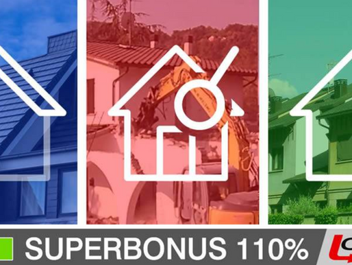 SUPERBONUS 110% - AMMESSE SECONDE CASE, VILLETTE A SCHIERA E DEMOLIZIONI