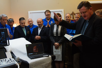 State's First 4D Ultrasound Machine in Roswell Pregnancy Aid Clinic