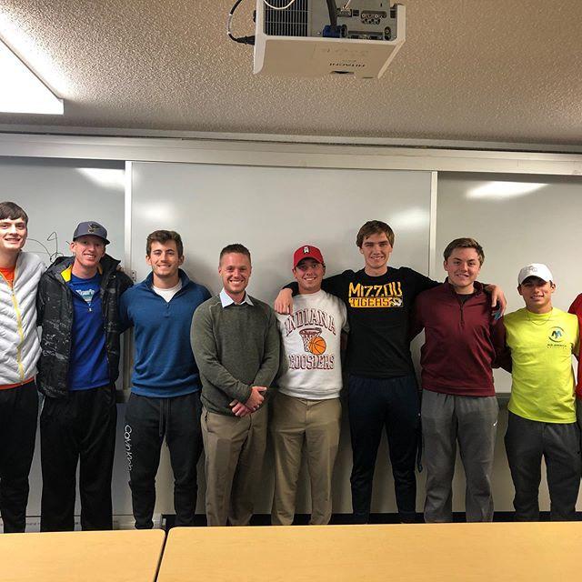 Collumbia College Men's Golf Team