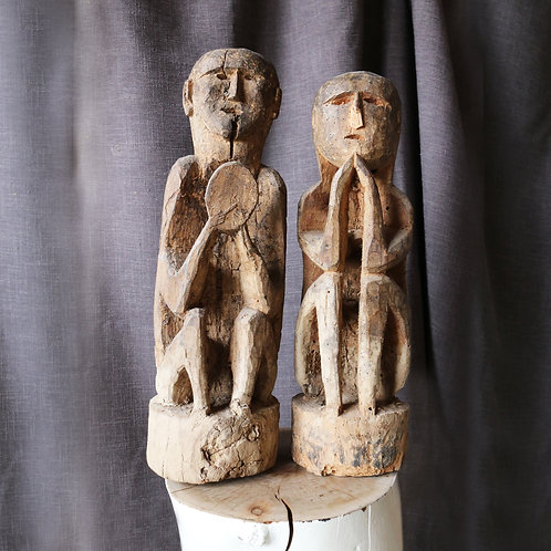 Nepalese Carved Figurines
