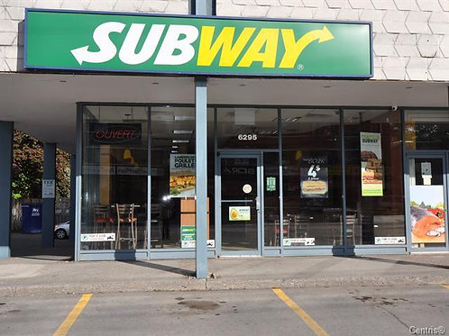 Subway Franchises - Fond de commerce
